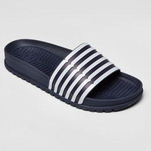 Hunter for Target Women's Striped Slide Sandals